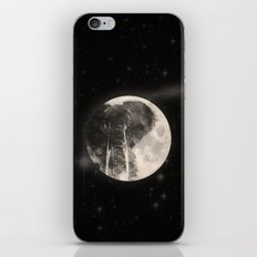 The Elephant in The Moon iPhone & iPod Skin