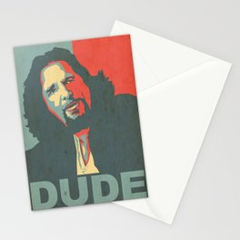 Dude Abides Stationery Cards
