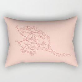 Vincent van Gogh, Almond Blossom Rectangular Pillow