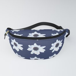 Good Night, Sleepy African Daisy Flower Fanny Pack