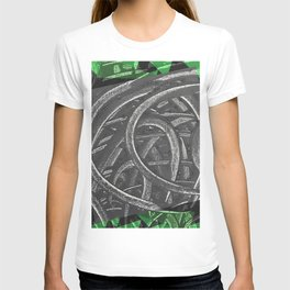 Junction - green/black graphic T-shirt