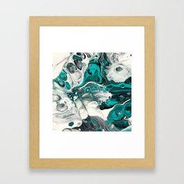 Greeny Framed Art Print
