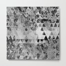 Triangle Universe Ink Metal Print