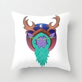 Malfurion The Green Beard | WoW Throw Pillow