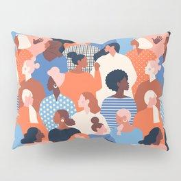 Diverse women Pillow Sham