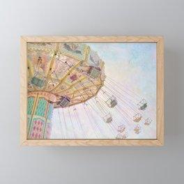 Summer Swings Framed Mini Art Print