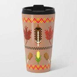 Ugly Thanksgiving Sweater Travel Mug