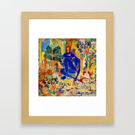 Matisse el Henri Gerahmter Kunstdruck