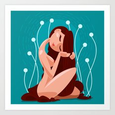 Bliss & Serenity Art Print