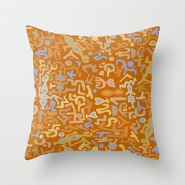 VooDoo Thoughts Throw Pillow