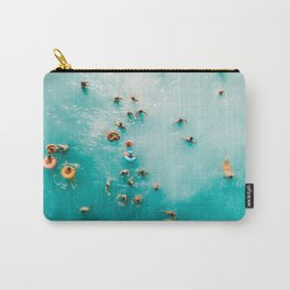 I Need Vitamin Sea   Aerial Ocean Print   Summer Turquoise Print   Waves Art Print   Turquoise Art Carry-All Pouch