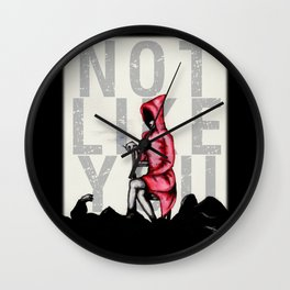 Do Not Conform Wall Clock