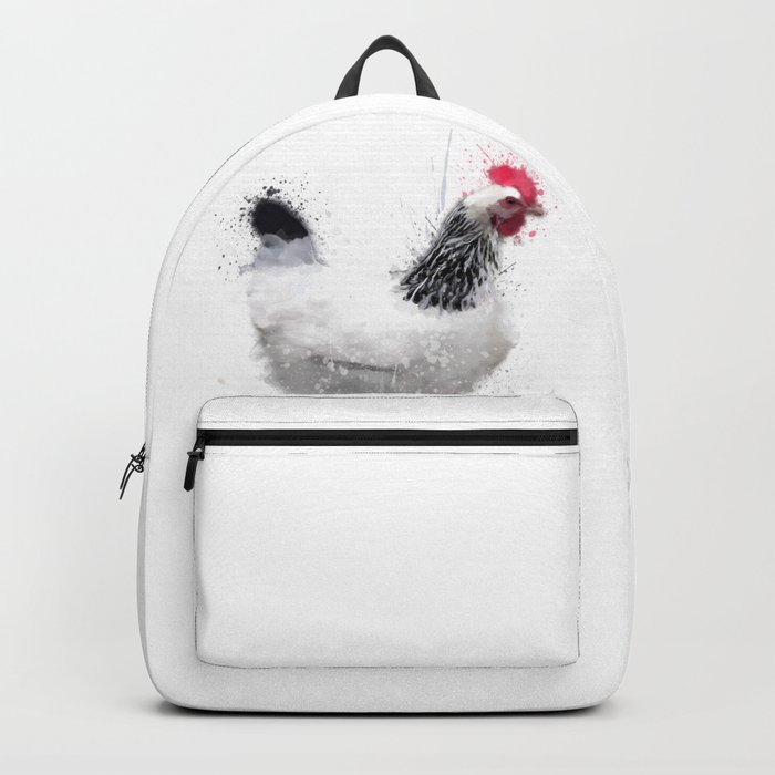 Light Sussex Hen Backpack