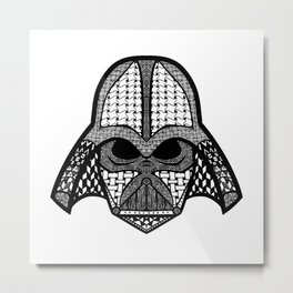 Darth Metal Print