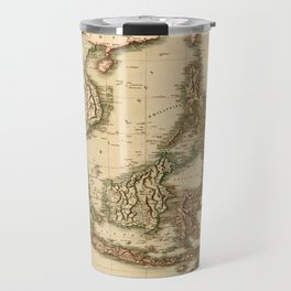 Map Of The East Indies 1801 Travel Mug