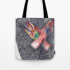 Hands #4 Tote Bag