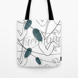 freedom web Tote Bag