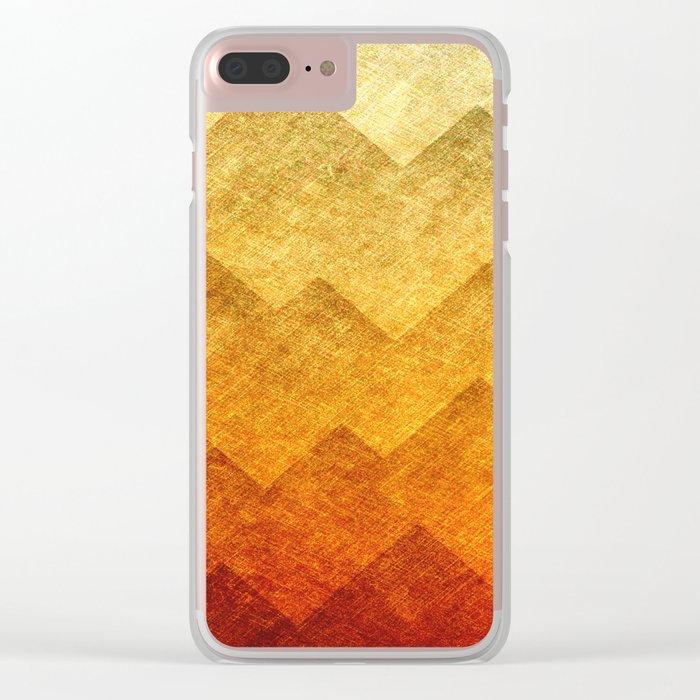 HillsHillsHills #2 Clear iPhone Case