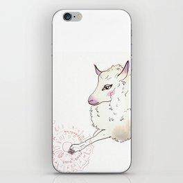 Wise Sheep iPhone Skin
