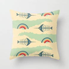 bittersweet pattern Throw Pillow