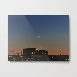 Moon over MMC (1) Metal Print