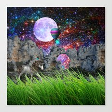 dreaming planet Canvas Print
