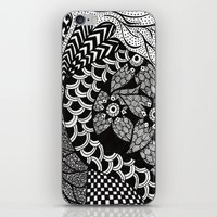 henna iPhone & iPod Skins featuring Henna by JessicaR