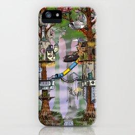 Modern Pixie Kingdom iPhone Case
