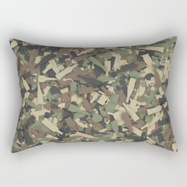 Forest alcohol camouflage Rectangular Pillow