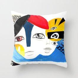 Multiplicidade 3 Throw Pillow