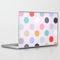 polka dots Laptop & iPad Skins featuring Polka Dots by Color & Theory
