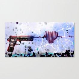 BANG Canvas Print
