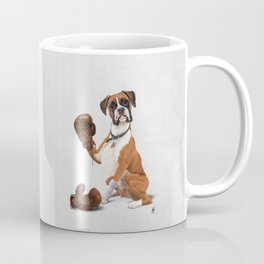 The Boxer (Wordless) Coffee Mug