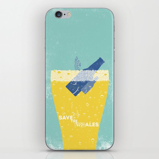 Save the Ales iPhone Skin