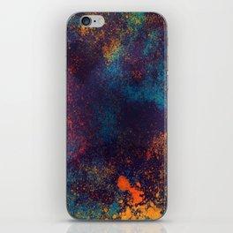 Universe color splash iPhone Skin