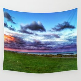 Last colours of the day Wall Tapestry