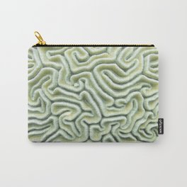 Pic Your Brain Coral (Natural) Carry-All Pouch