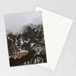 larches on the mountain Stationery Cards