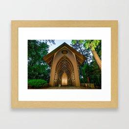 The Bella Vista Arkansas Mildred B. Cooper Memorial Chapel Framed Art Print