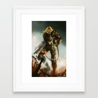 samus Framed Art Prints featuring Samus  by Jorge Lacera