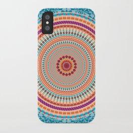 Peace Mandala - מנדלה שלום iPhone Case