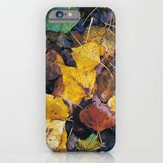 Rain leaves II iPhone 6s Slim Case