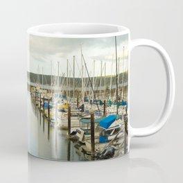 Sail Boats at the John Wayne Marina Coffee Mug