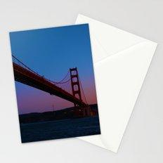 Golden Gate Bridge at Sunset -- San Francisco Stationery Cards