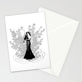 Violinist Stationery Cards