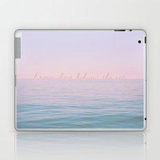 Somewhere behind the sea Laptop & iPad Skin