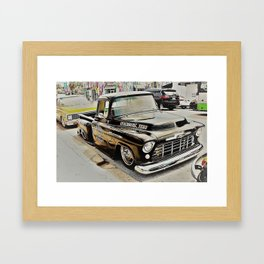 Old No.7 Framed Art Print