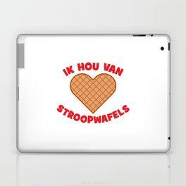 Ik Hou Van Stroopwafels Laptop & iPad Skin