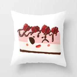 Baby Cakes - Raspberry Cheesecake Throw Pillow