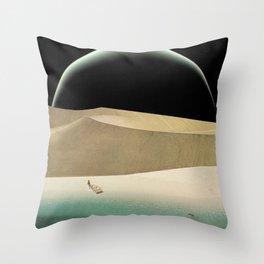 Utopian Tide Throw Pillow